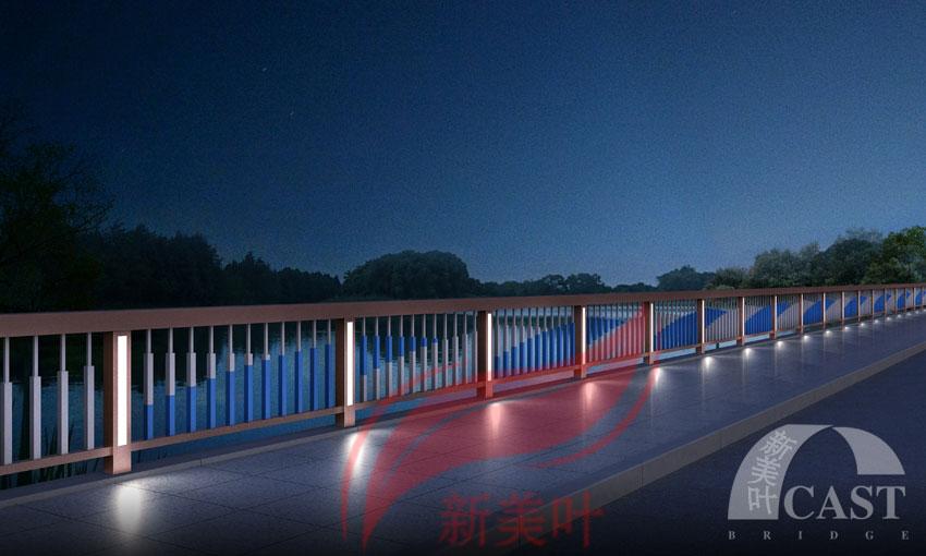 201861323206669 新美叶最新力作,六款特色景观桥梁灯光护栏(夜景效果图)