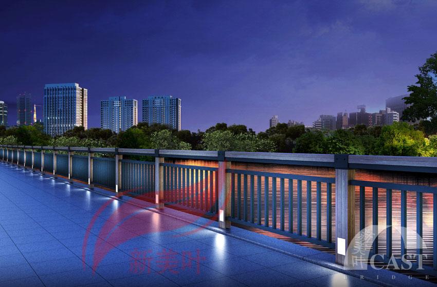 201861323409933 新美叶最新力作,六款特色景观桥梁灯光护栏(夜景效果图)