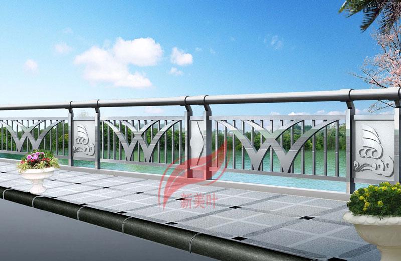 5858 特色不锈钢桥梁护栏设计效果图展示(以量产)