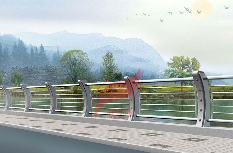 1 新美叶公司新款铸造石河道护栏(部分)