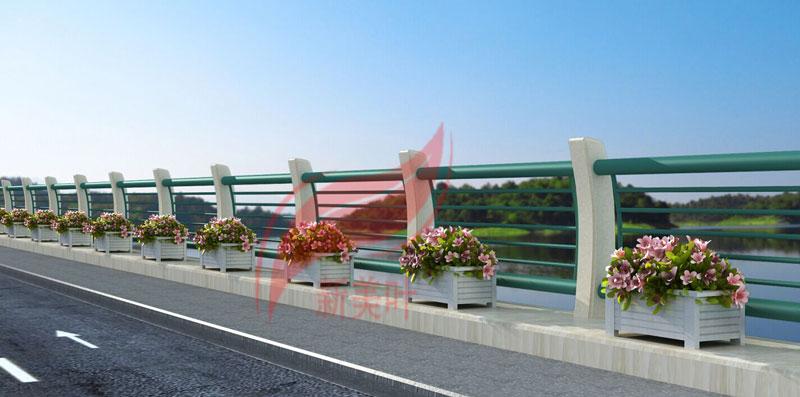 2 新美叶公司新款铸造石河道护栏(部分)