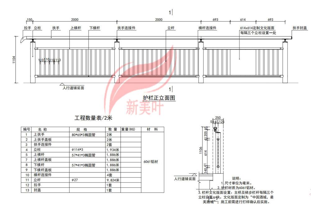 20190711152620 四川泸州''中国酒城''文化河道栏杆设计图