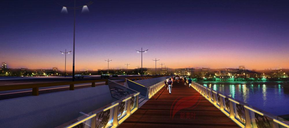10 新美叶2019年上半年景观桥梁装饰工程设计效果图(部分)