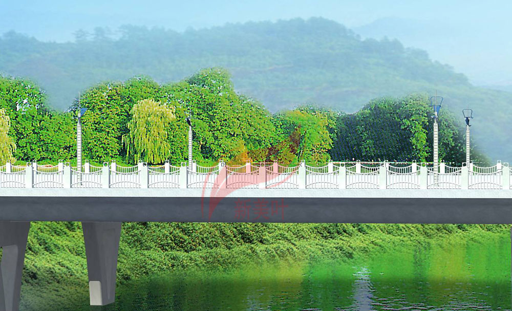 3 新美叶2019年上半年景观桥梁装饰工程设计效果图(部分)
