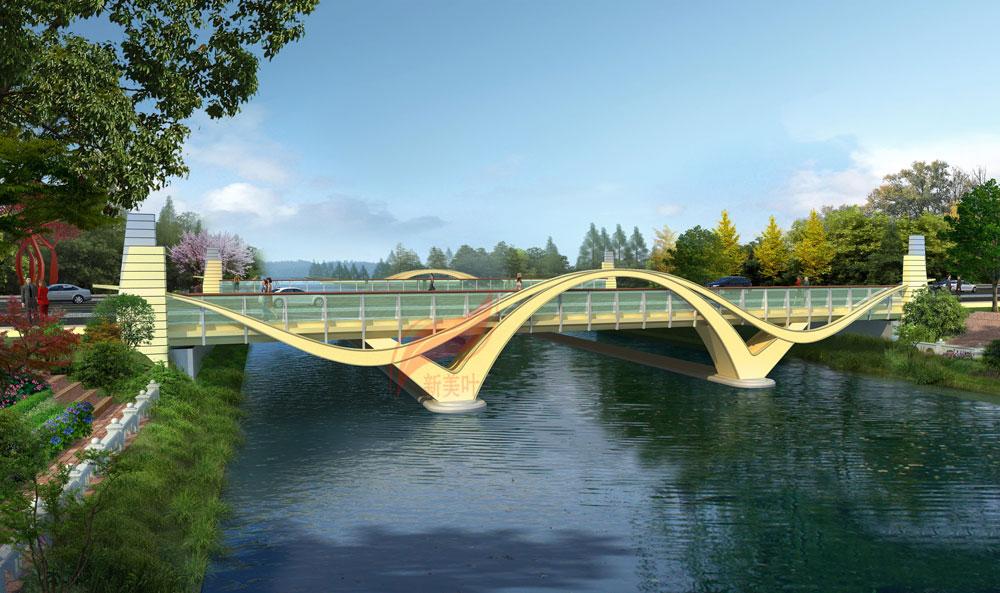 4 新美叶2019年上半年景观桥梁装饰工程设计效果图(部分)