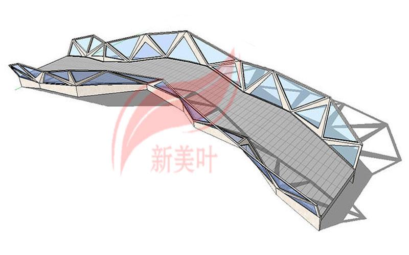 5-1 新美叶公司特色景观桥梁装饰护栏设计模型展示(部分)