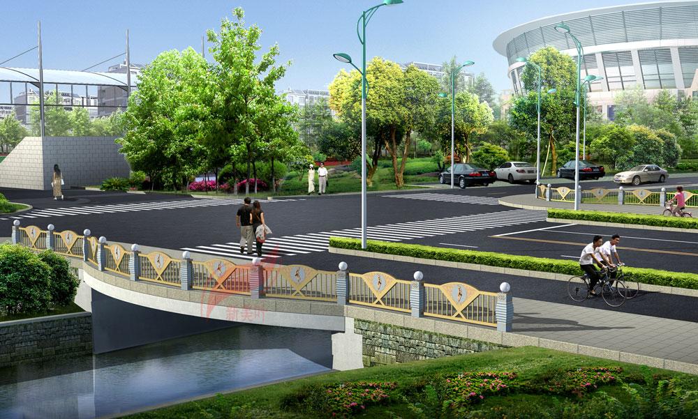 6 新美叶2019年上半年景观桥梁装饰工程设计效果图(部分)