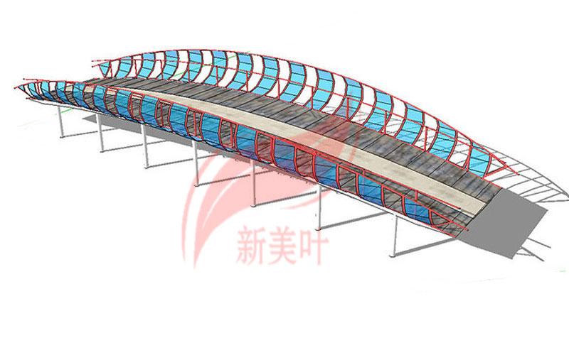 7-1 新美叶公司特色景观桥梁装饰护栏设计模型展示(部分)