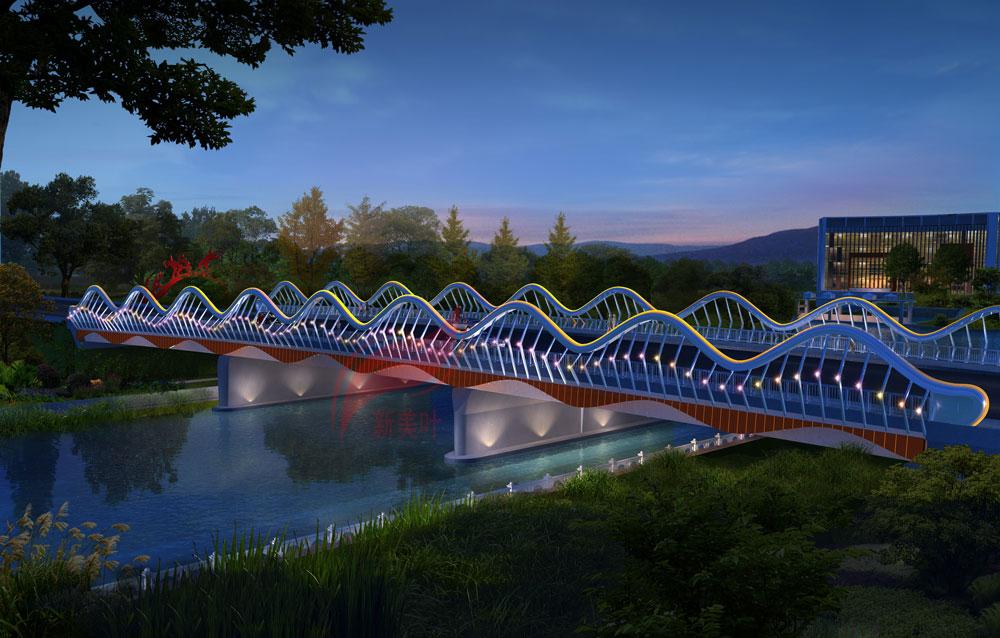 7 新美叶2019年上半年景观桥梁装饰工程设计效果图(部分)
