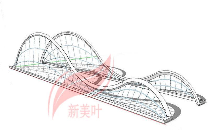 8-1 新美叶公司特色景观桥梁装饰护栏设计模型展示(部分)