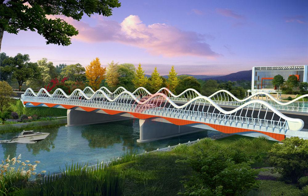 8 2018年11月最新设计桥梁栏杆公开展示