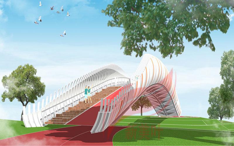 9-1 新美叶2019年上半年景观桥梁装饰工程设计效果图(部分)