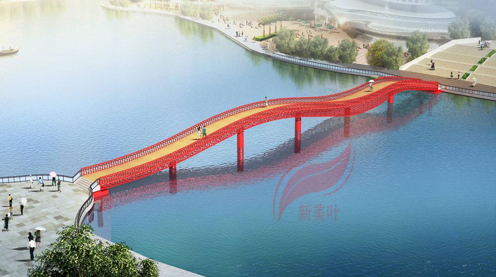 E 新美叶公司2019年上半年桥梁装饰工程方案设计效果图公示(部分)