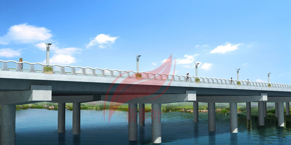 F 新美叶公司2019年上半年桥梁装饰工程方案设计效果图公示(部分)