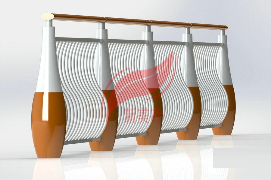 20180921034507344 新款景观河道护栏设计效果图及实物生产图展示
