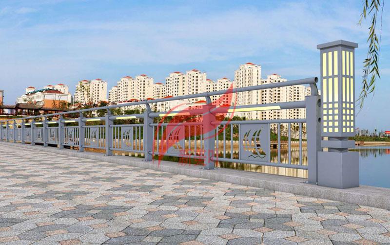 1 2020年初新款桥梁河道护栏效果图公示