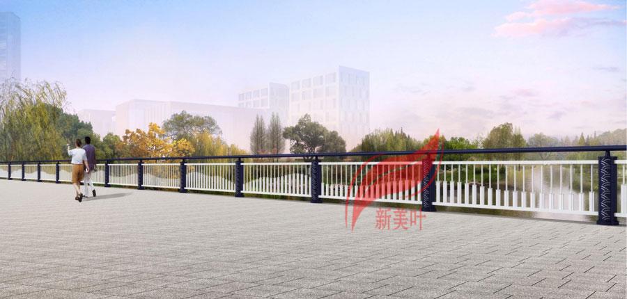 2 2020年初新款桥梁河道护栏效果图公示