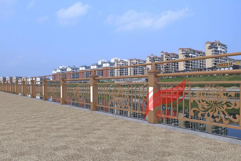 4 2020年初新款桥梁河道护栏效果图公示