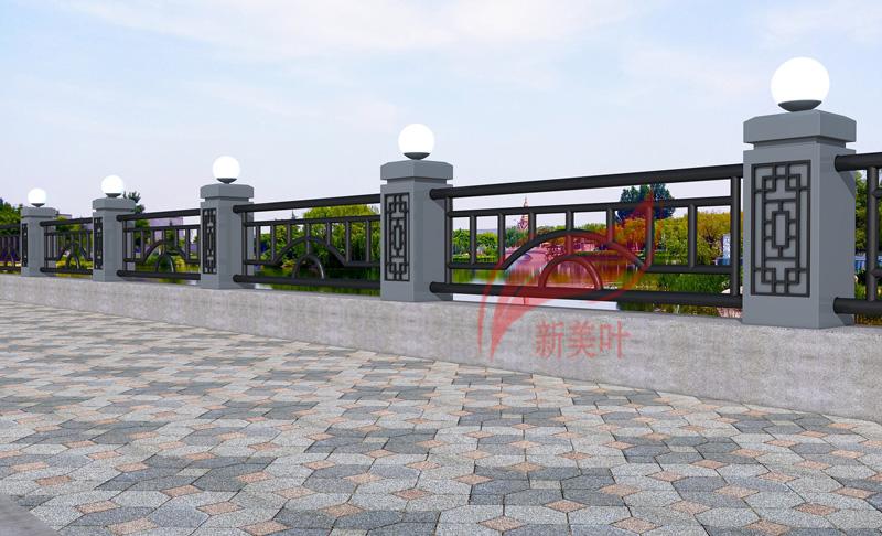 20200715143447 新美叶2020年 上半年河道、桥梁护栏设计公示(部分)