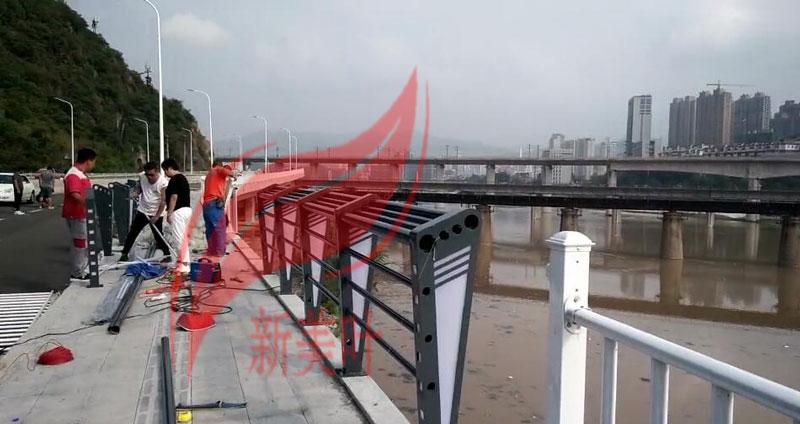 20181201193902 我公司2020年全年桥梁、河道、景观、灯光护栏工程安装案例展示(部分)