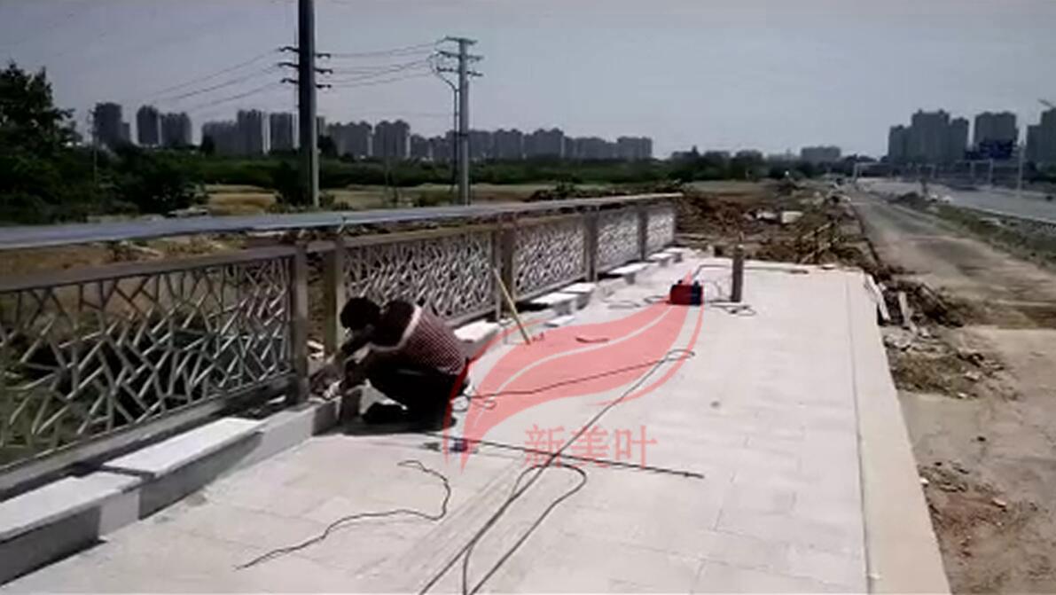 20190526131953 我公司2020年全年桥梁、河道、景观、灯光护栏工程安装案例展示(部分)